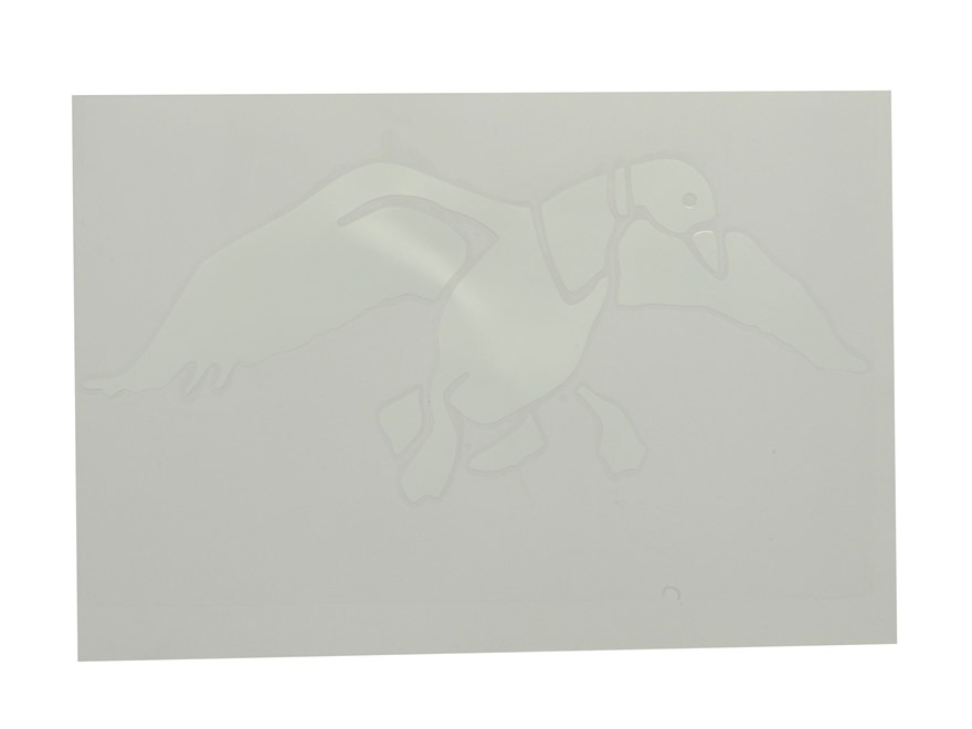 Duck Commander Duck Decal White