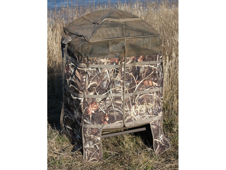 Momarsh Freedom Hunter Chair Blind Realtree Max-5 Camo