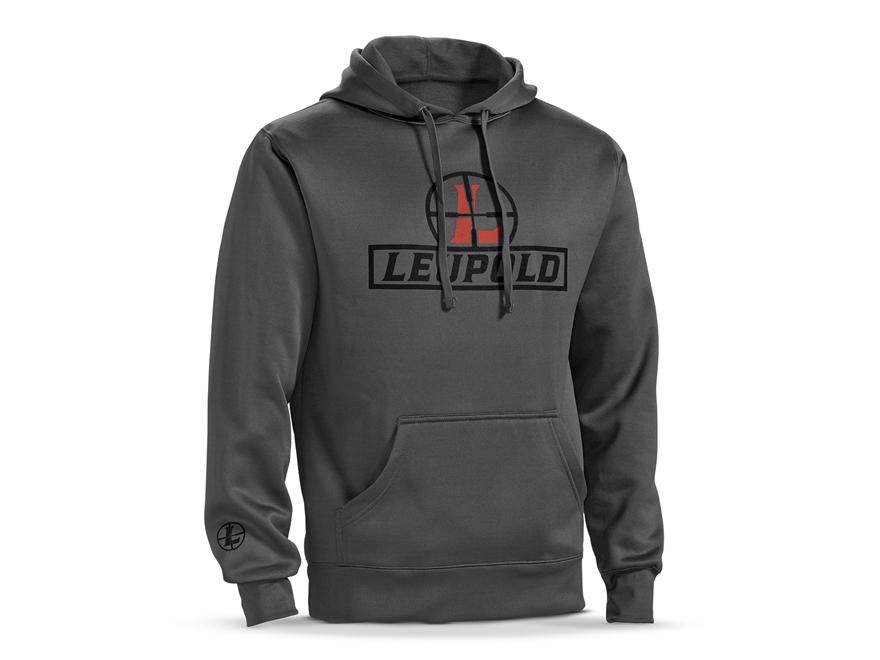 Leupold Men's Reticle Logo Hoodie Cotton/ Polyester Blend