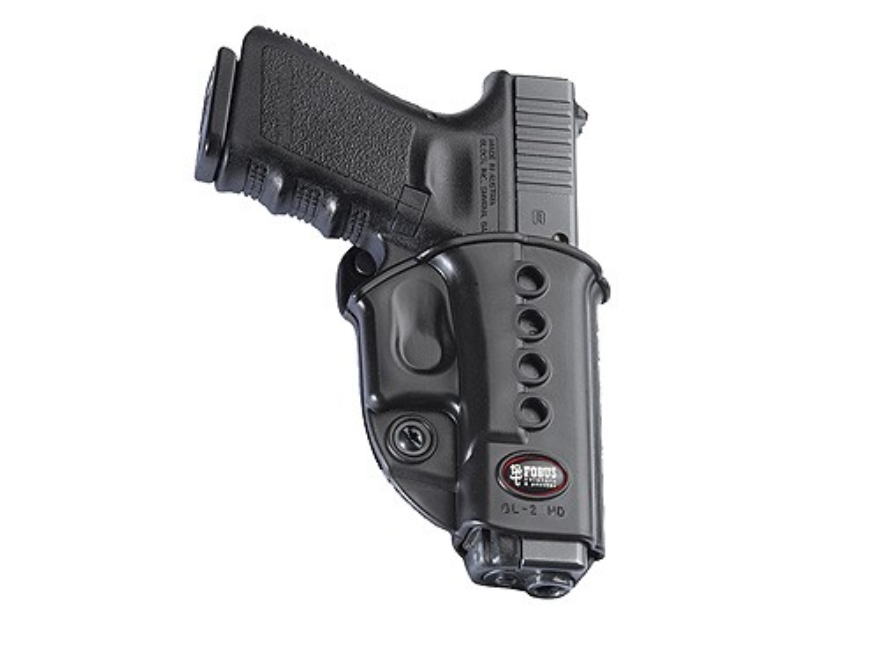 Fobus Evolution Roto Belt Holster Right Hand Glock 17, 19, 34, Walther PK380, KAHR CW40...