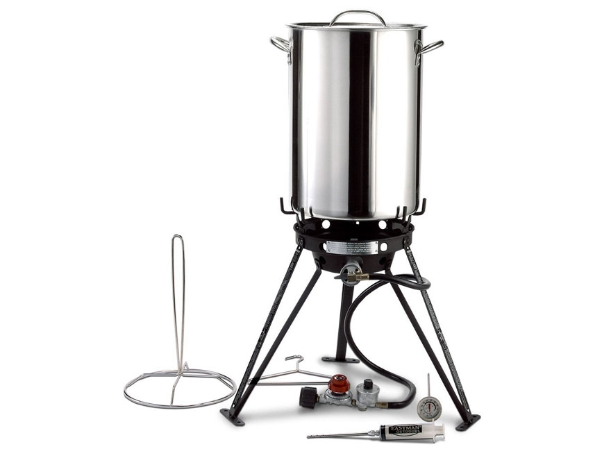 Eastman Outdoors 30 Qt Professional Camp Stove Kit