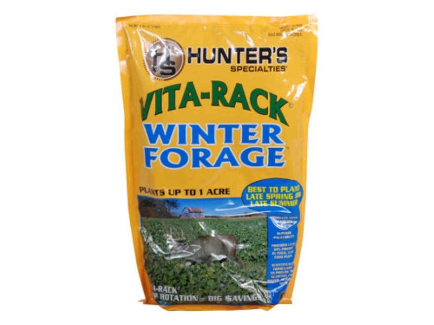 Hunter's Specialties Vita-Rack Winter Forage Annual Food Plot Seed 6 lb