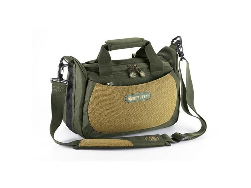 Beretta Retriever 4 Box Range Bag Nylon Green/Tan