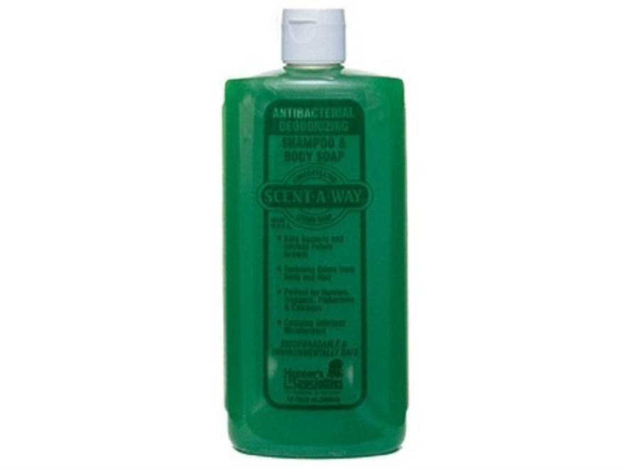 Hunter's Specialties Scent-A-Way Antibacterial Scent Elimination Soap Liquid 12 oz