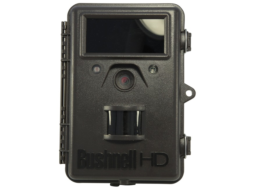Bushnell Trophy Cam HD Max Hybrid Black Flash Infrared Game Camera 8.0 Megapixel with V...
