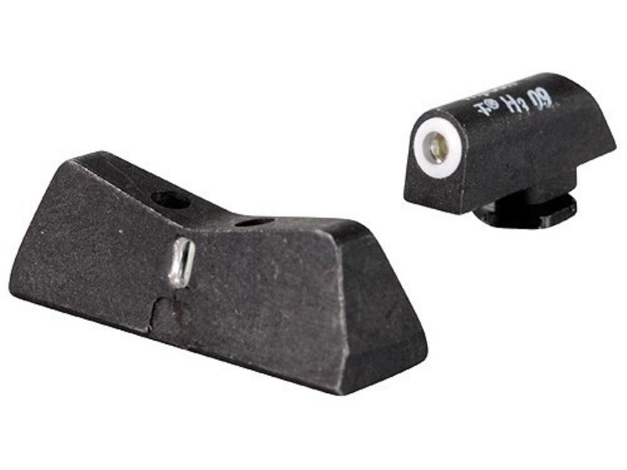 XS DXT Night Sight Set Glock 20, 21, 29, 30, 30S, 37, 41 Steel Matte Tritium