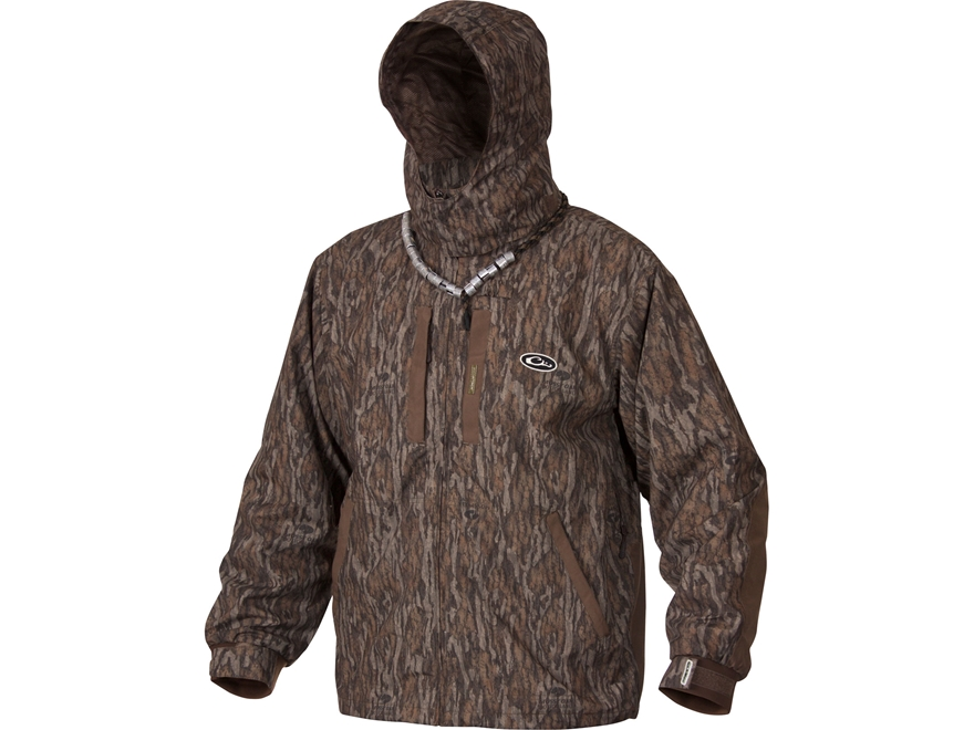 Drake Men's EST Heat-Escape Waterproof Full Zip 2.0 Jacket Polyester