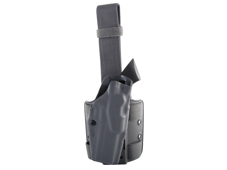 Safariland 6354 ALS Tactical Drop Leg Holster Right Hand 1911 Government with Rail Poly...