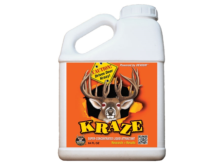 Whitetail Institute Kraze Deer Attractant Liquid 64 oz