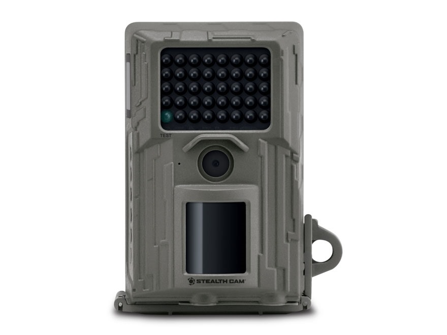 Stealth Cam E38NG Black Flash Infrared Game Camera 8 Megapixel Gray