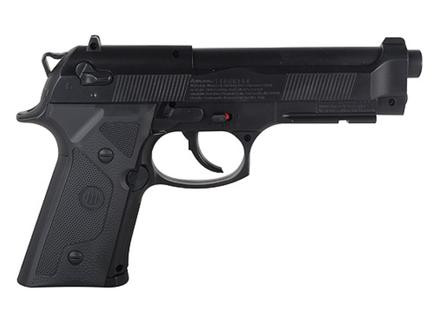 Beretta Elite II Air Pistol 177 Caliber BB Black