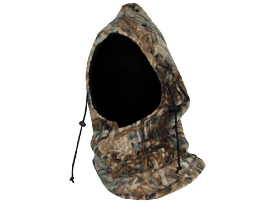 Tanglefree Fowler's Hood Fleece Mossy Oak Duck Blind Camo