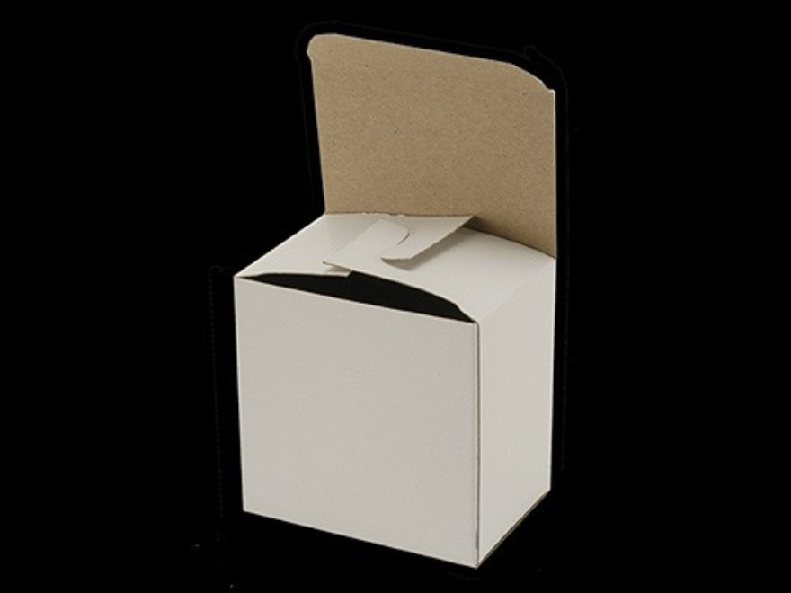 """BPI """"Factory Style"""" Shotshell Box 20 Gauge 25-Round White Package of 10"""