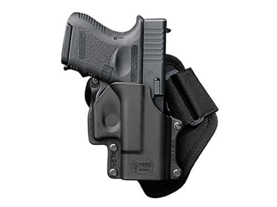 Fobus Ankle Holster Right Hand Polymer Black