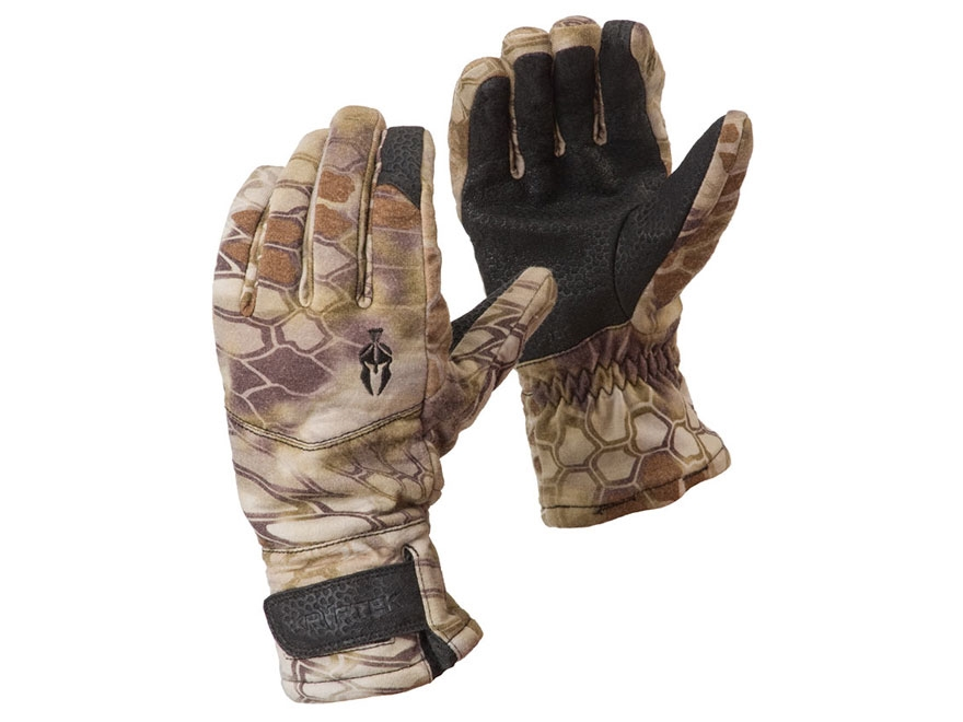 Kryptek Men's Norlander Gloves Merino Wool Highlander Camo Medium