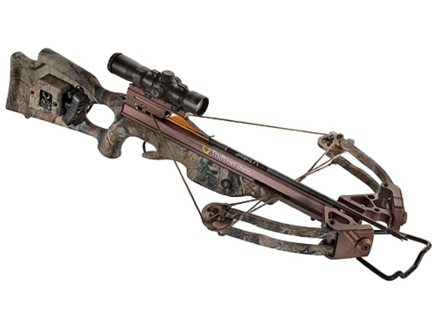 TenPoint Stealth XLT Crossbow Package with RangeMaster Pro Scope and ACUdraw System Rea...