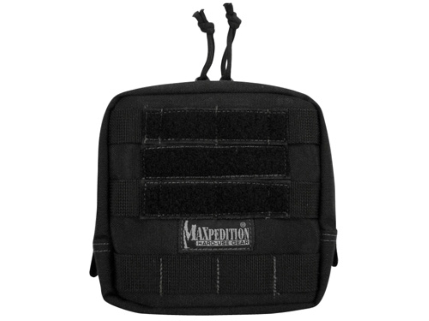 "Maxpedition Padded Pouch 6"" x 6"" Nylon Black"