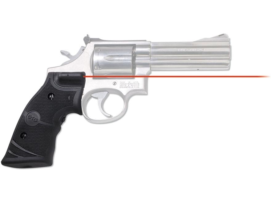 Crimson Trace Lasergrips S&W K-, L- and N-Frame Revolver Rubber Black