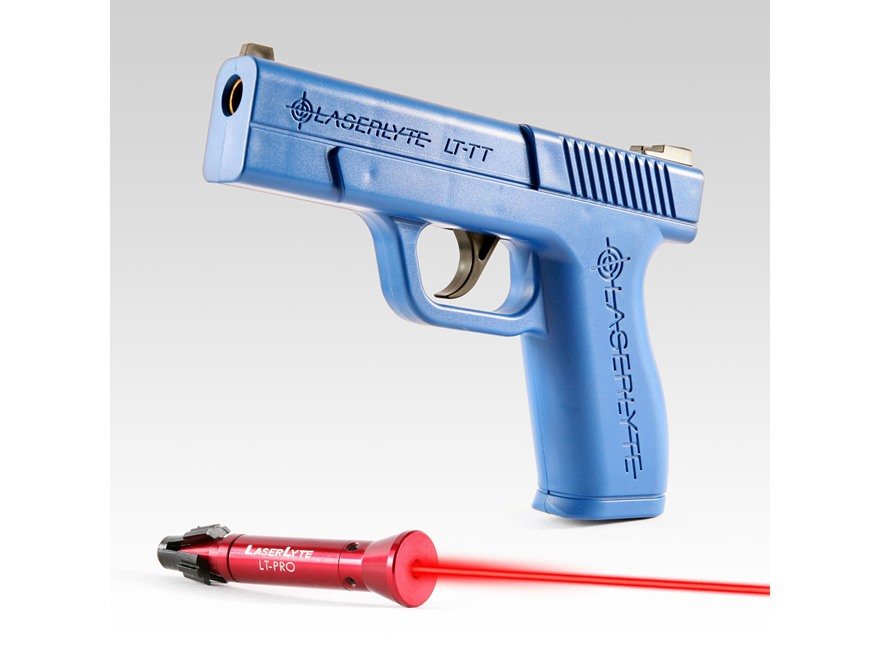 LaserLyte Trigger Tyme Pro Kit with Full Size Pistol Housing and LT-Pro Laser Trainer