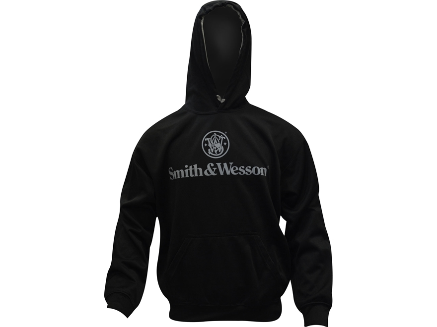 Smith & Wesson Men's Performance Logo Hoodie Polyester