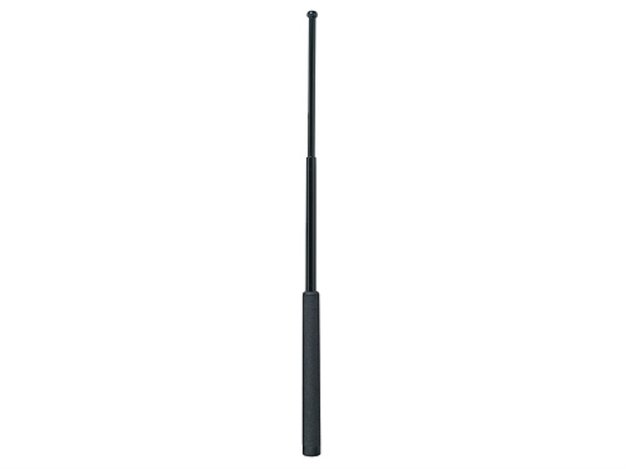 "ASP Friction Loc Baton 26"" Expandable 4140 Steel Shaft Black Chrome Finish Foam Grip Black"
