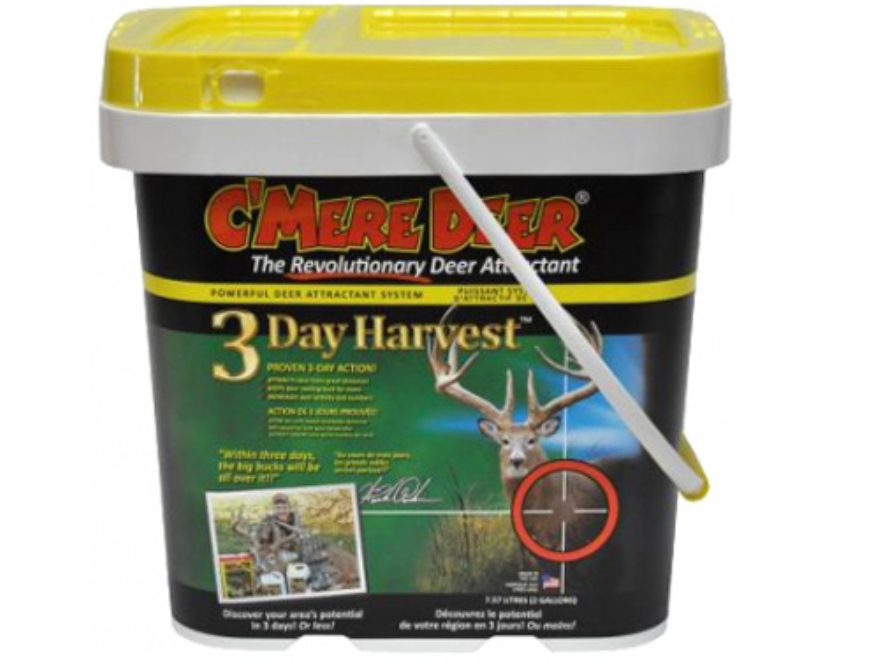 C'Mere Deer 3 Day Harvest Deer Attractant Granular 2 Gallon