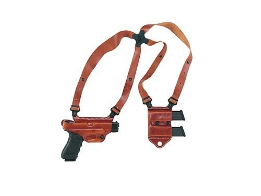 Galco Miami Classic 2 Shoulder Holster System Right Hand Leather