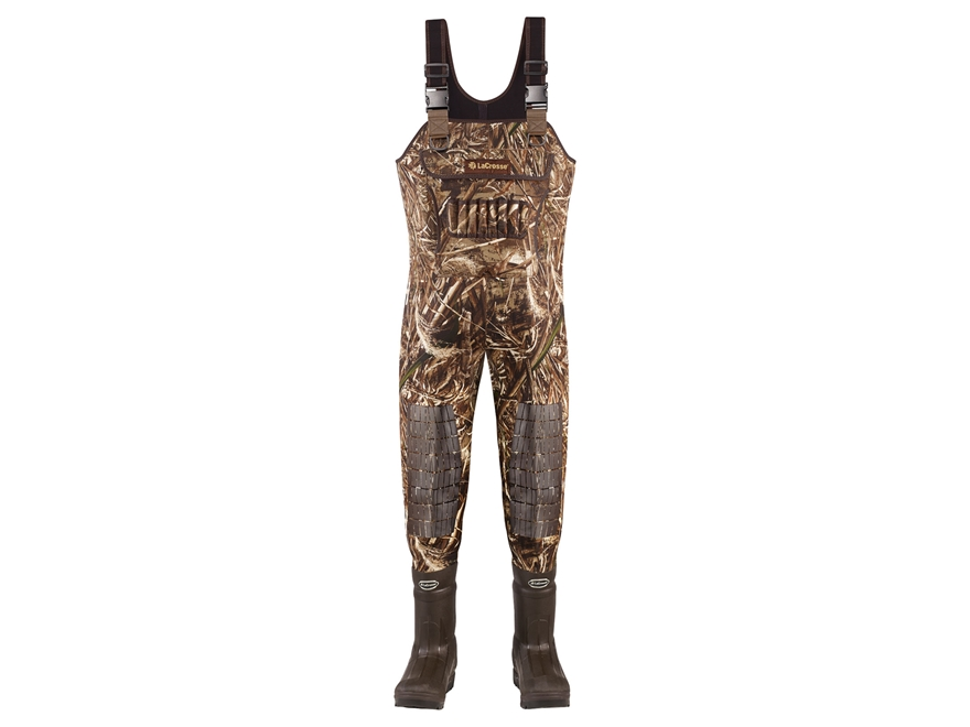 LaCrosse Brush Tuff Extreme ATS 5mm 1600 Gram Insulated Neoprene Chest Waders Realtree ...