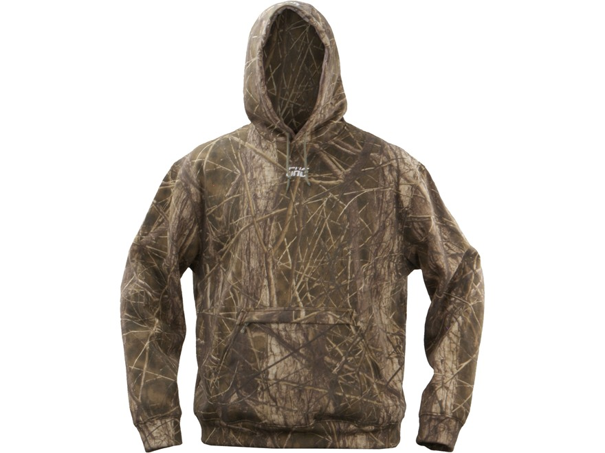 GHG Hooded Sweatshirt Cotton BuckBrush Camo Large