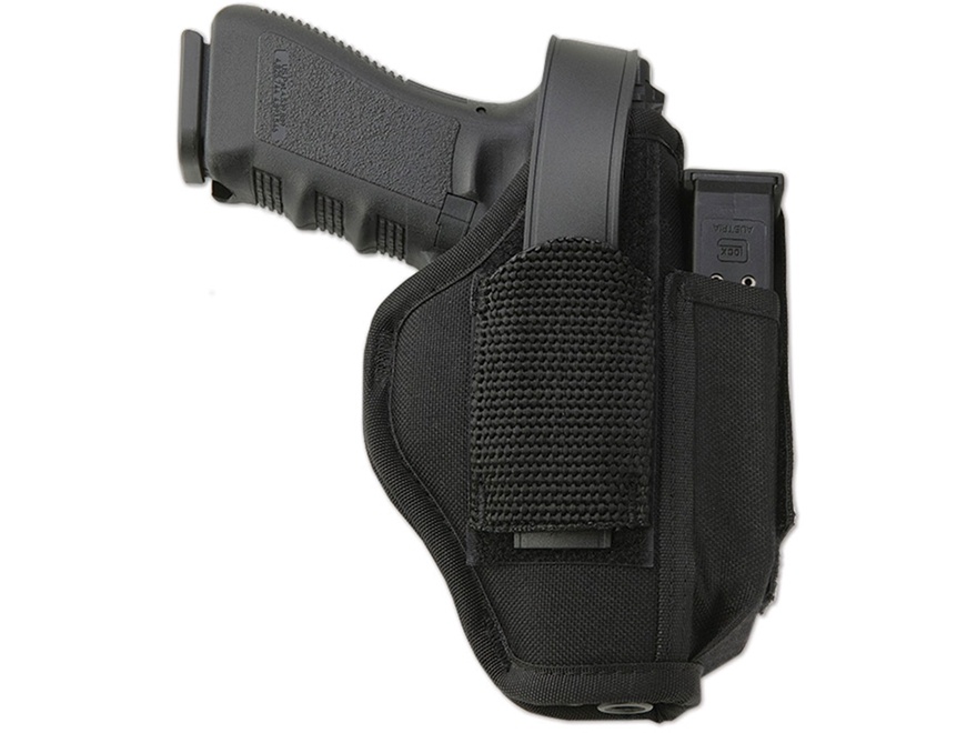 "Uncle Mike's Sidekick Ambidextrous Hip Holster Taurus Judge/ S&W Governor 3"" Barrel Nyl..."