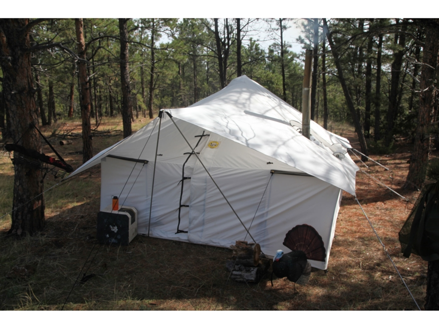 Montana Canvas Spike III 10 oz. Canvas tent package : montana canvas spike tent - memphite.com