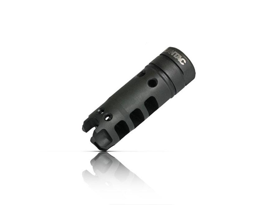 """LANTAC Dragon 5.56x45mm Muzzle Brake 1/2""""-28 Thread AR-15 Steel Nitride"""