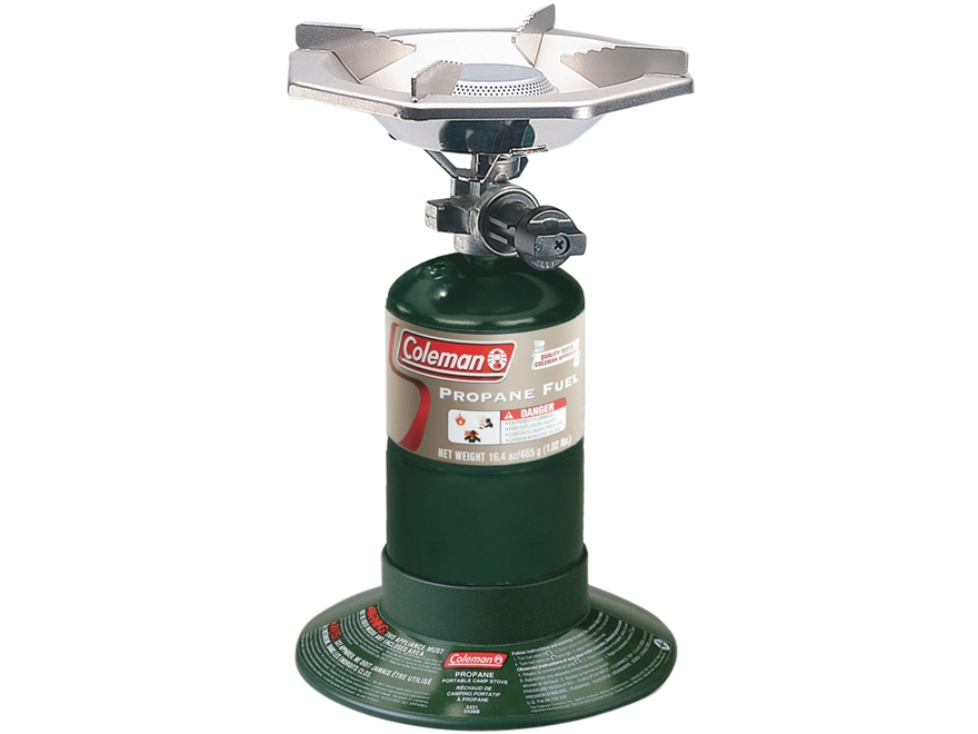 Coleman Bottle Top 1-Burner Propane Camp Stove