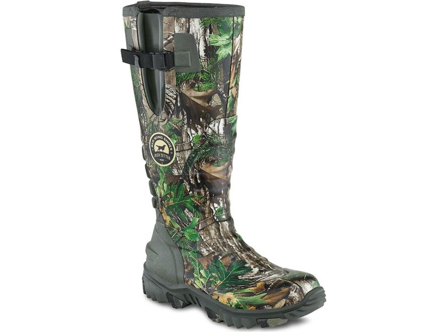 "Irish Setter Rutmaster 2.0 17"" Waterproof Hunting Boots Rubber Clad Neoprene Men's"