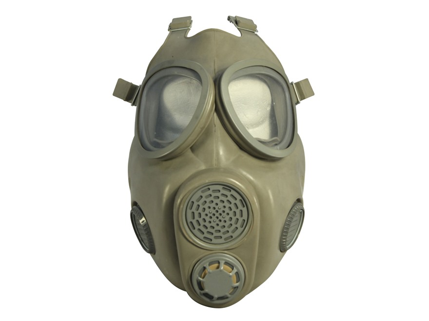 Military Surplus Czech M10 Gas Mask with Filters Grade 1