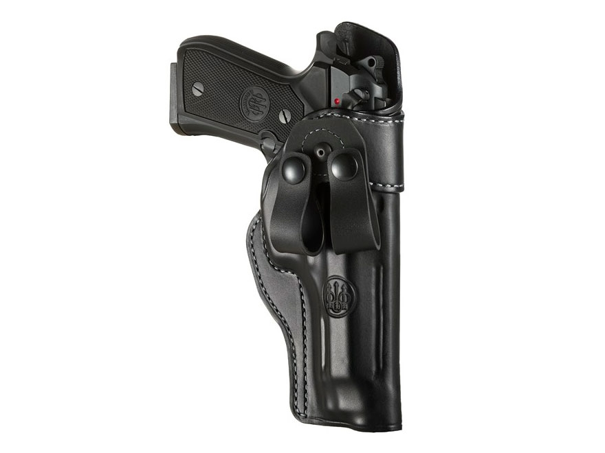 Beretta Mod. 1 Inside the Waistband Holster Right Hand Leather Black