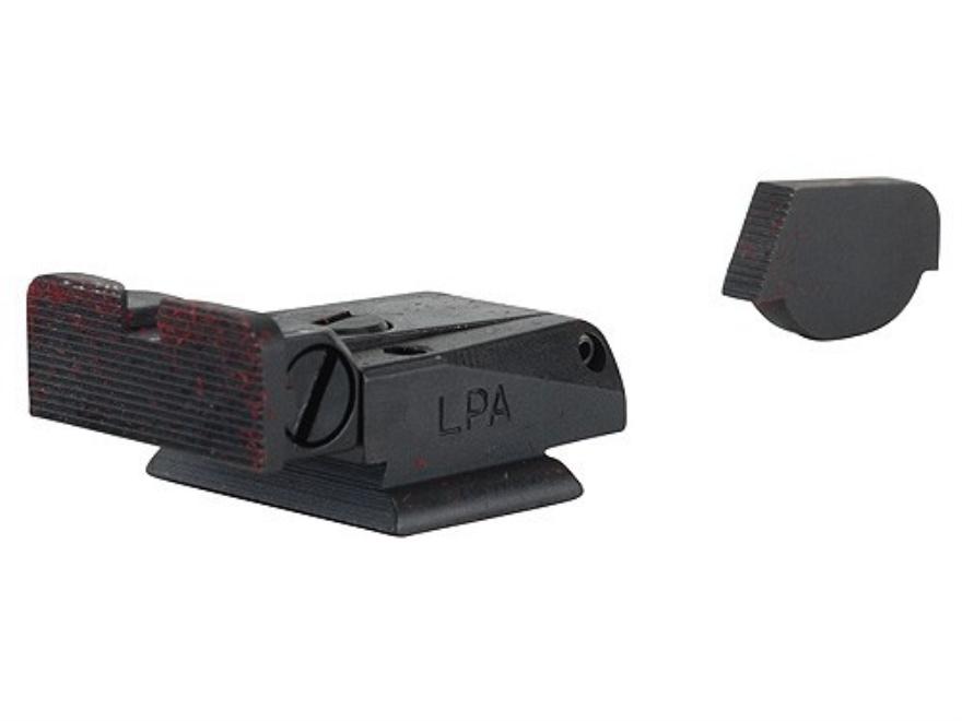 LPA SPR Target Sight Set Ruger P90, P91, P93, P94, P95, P97 Steel Blue