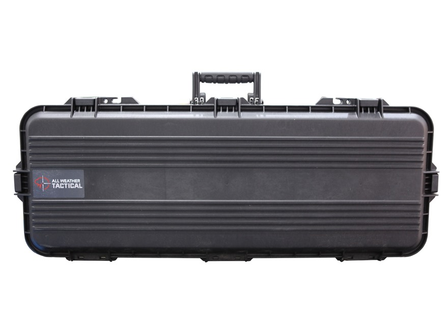 "Plano AW All Weather Series 36"" Tactical Rifle Case Polymer Black"