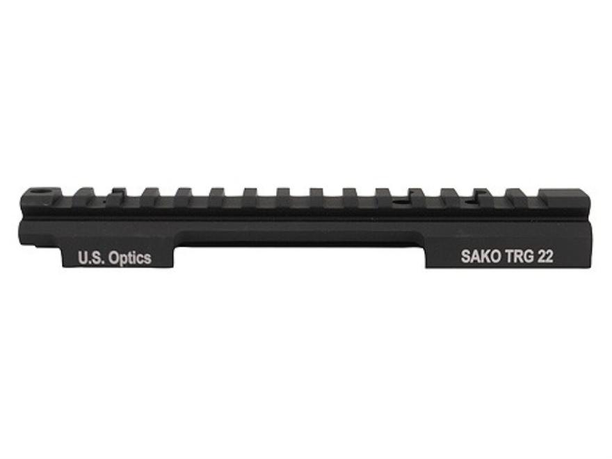 U.S. Optics 1-Piece 20 MOA Picatinny-Style Scope Base Sako 21/22 Matte