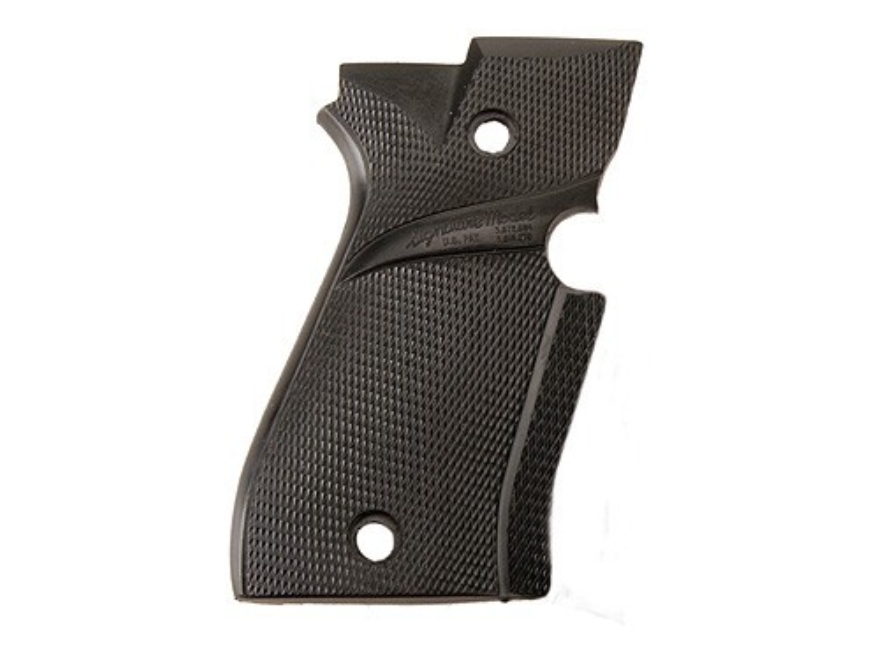 Pachmayr Signature Grips with Backstrap Beretta 84 Rubber Black