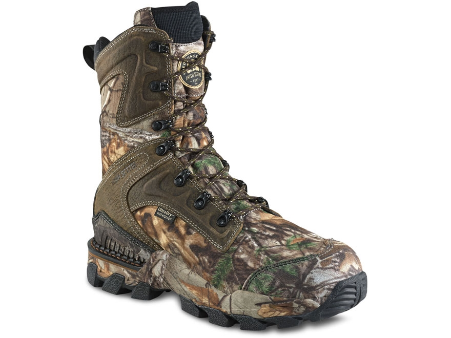 "Irish Setter Deer Tracker 10"" Waterproof 400 Gram Insulated Hunting Boots Leather and N..."