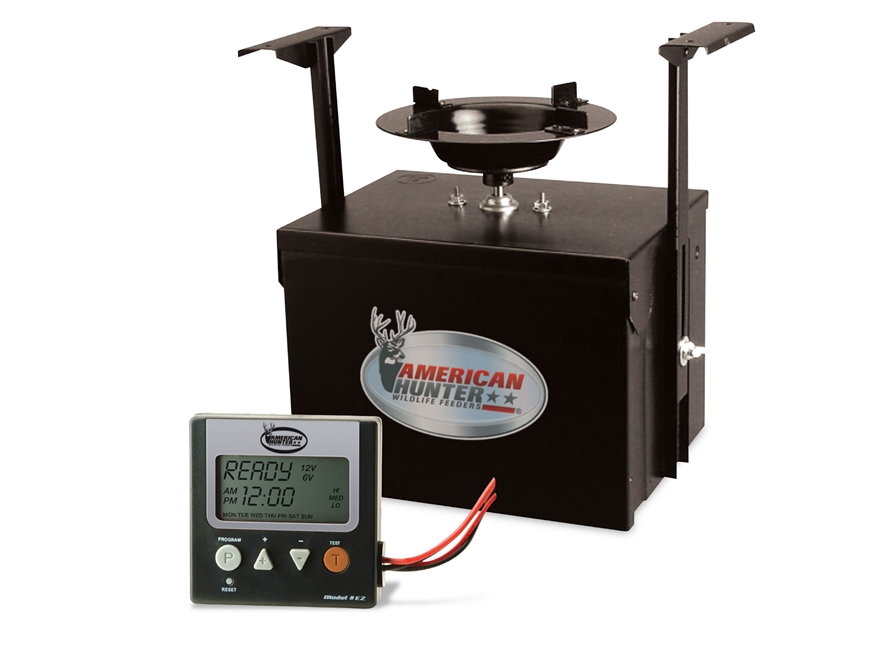 American Hunter Heavy Duty Spin Digital Game Feeder Kit