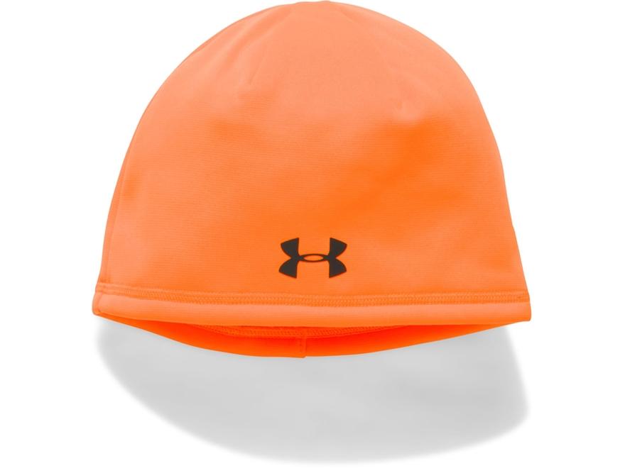 Under Armour Women's UA Storm Fleece Beanie Polyester Blaze Orange