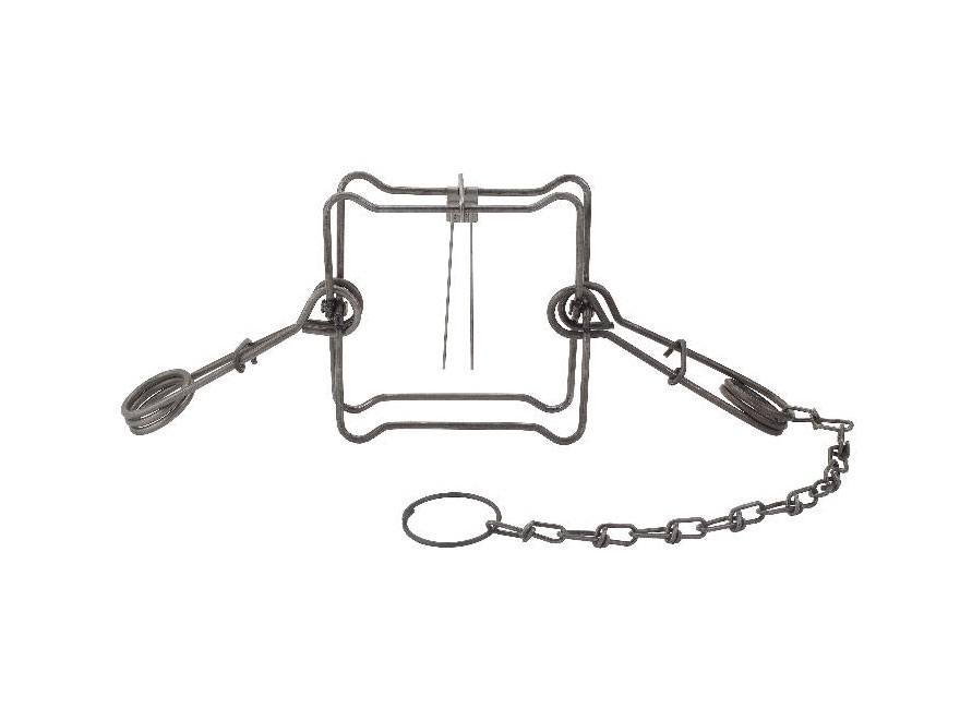 Duke #160 Body Trap Steel Silver