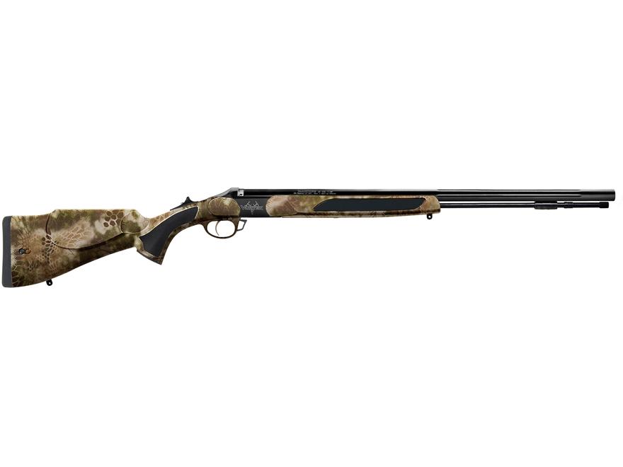 "Traditions Vortek StrikerFire Back Country Muzzleloading Rifle 50 Caliber 26"" Fluted Ni..."