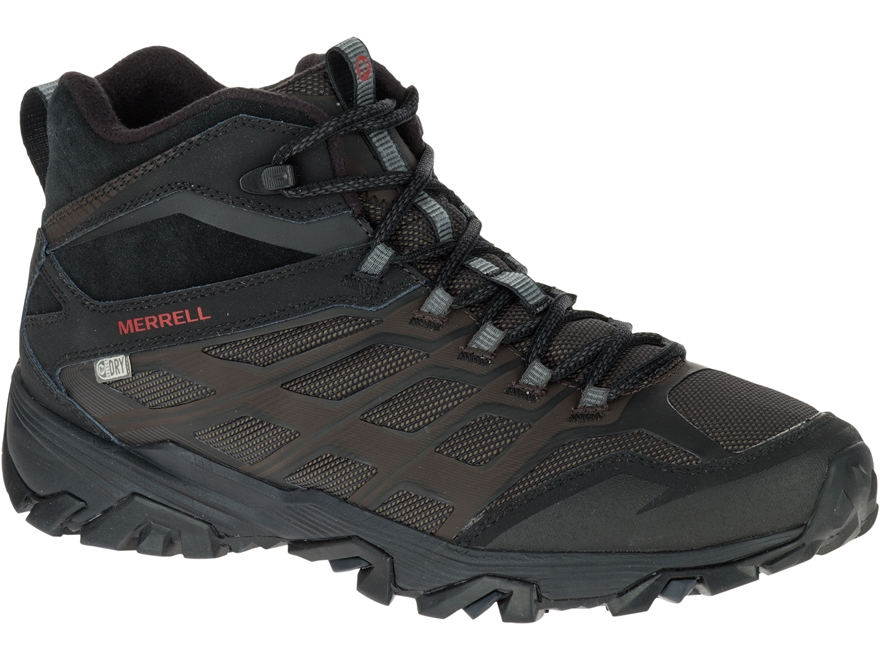 "Merrell Moab FST Ice+ Thermo 5"" Hiking Boots Leather/Synthetic"