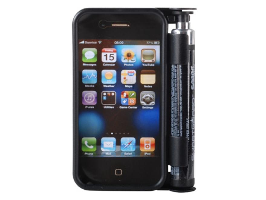 Sabre SmartGuard iPhone 4 Case Pepper Spray Black