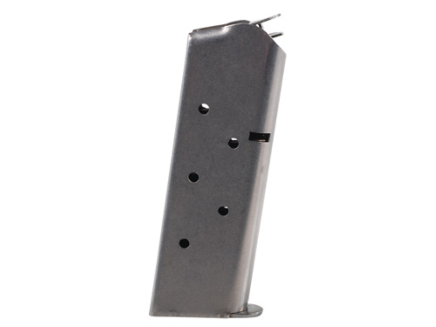 Metalform Magazine 1911 Officer 45 ACP 7-Round Steel Flat Follower Welded Base