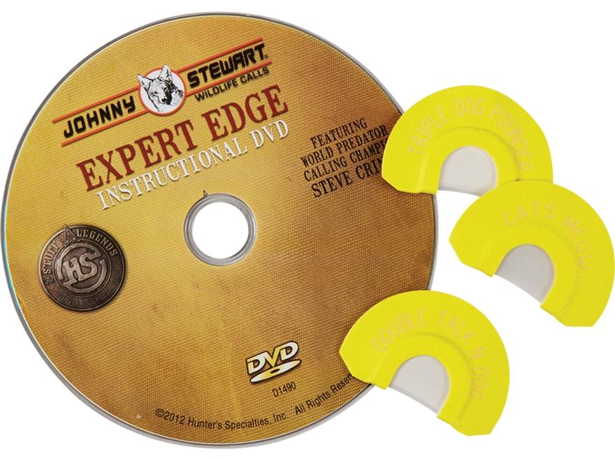 Johnny Stewart Expert Edge Diaphragm Predator Call Combo