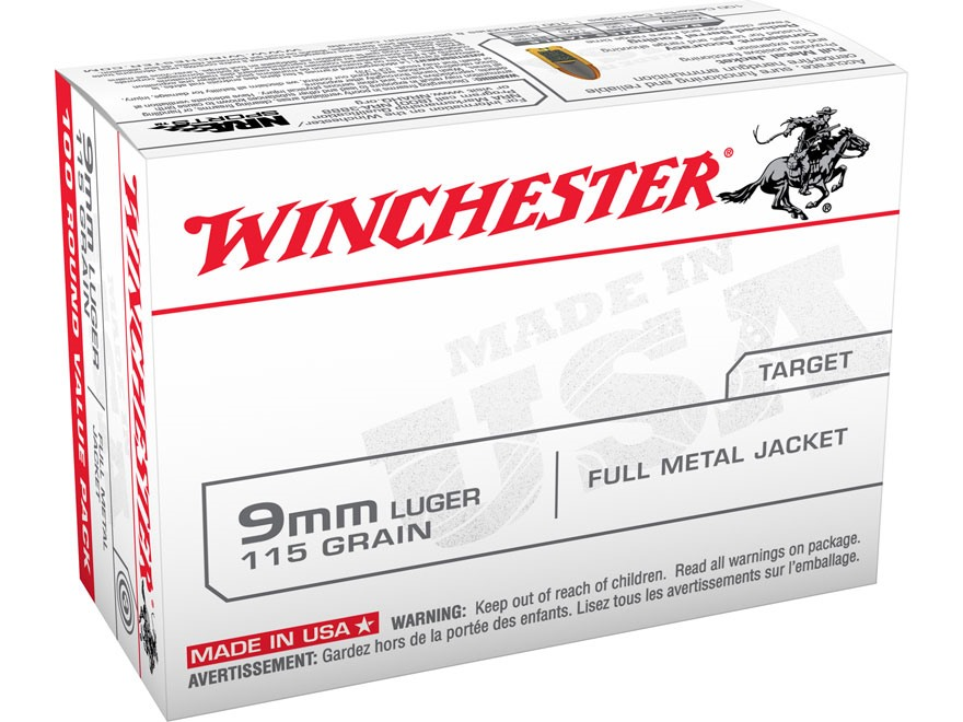 Image result for winchester 9mm luger